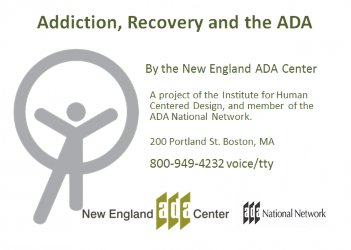 Addiction, Recovery and the ADA Powerpoint Download